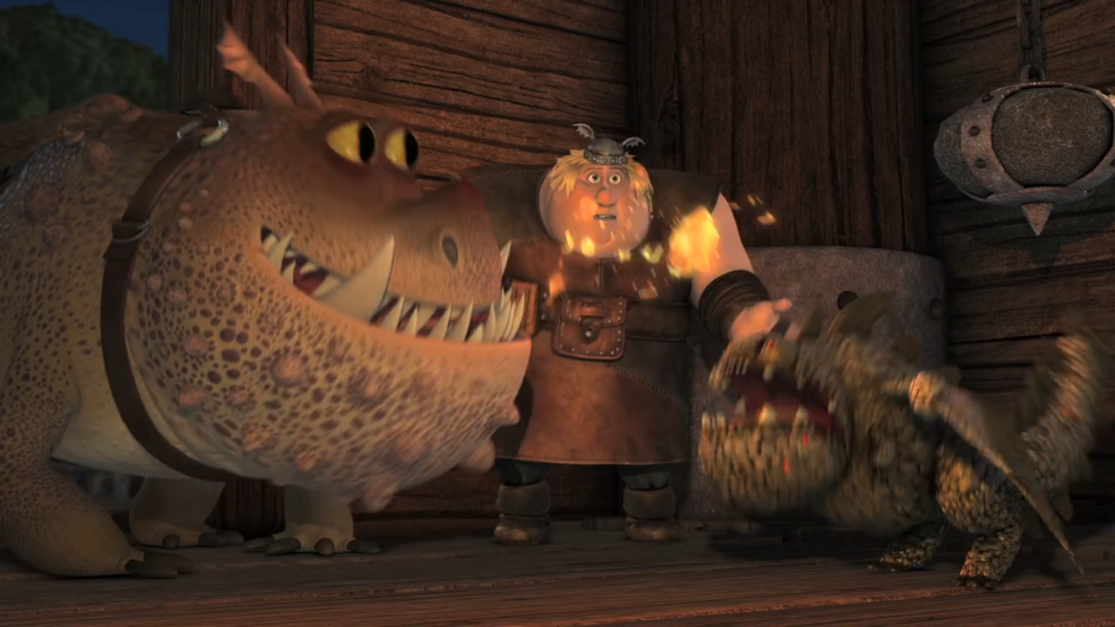how to train your dragon baby