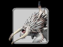 Dragons icon bewilderbeast white