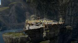 Zippleback Down title card