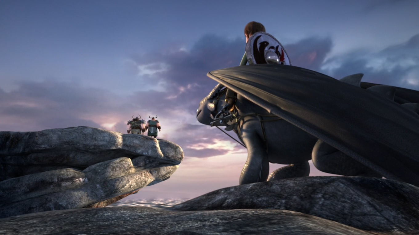 Image  Hiccup Watching Alvin And Stoick Talking At The Edge Of A Cliffg   How To Train Your Dragon Wiki  Fandom Powered By Wikia