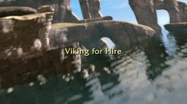 Viking for Hire title card