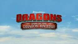 Dawn of the Dragon Racers title card