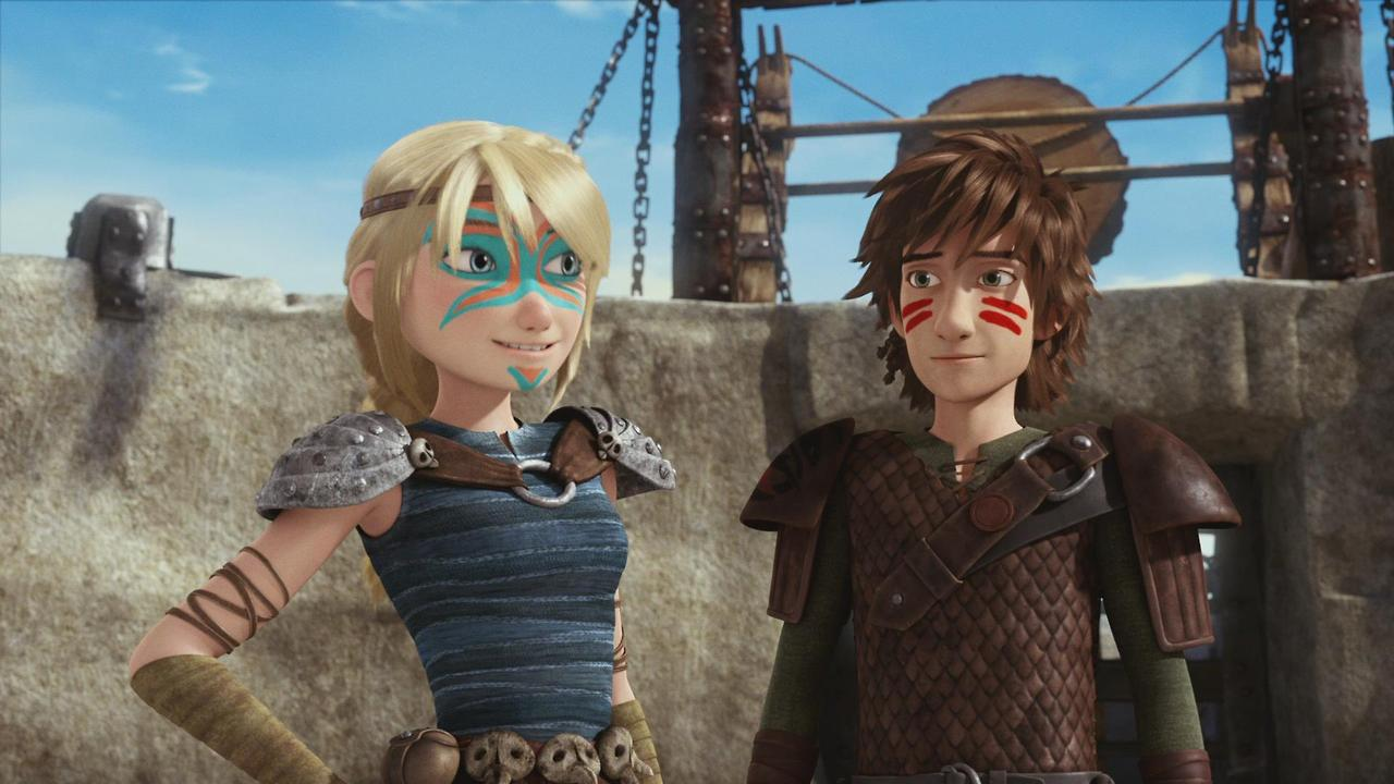 Image  Astrid And Hiccup Dawn Of The Dragon Racersg  How To Train Your  Dragon Wiki  Fandom Powered By Wikia