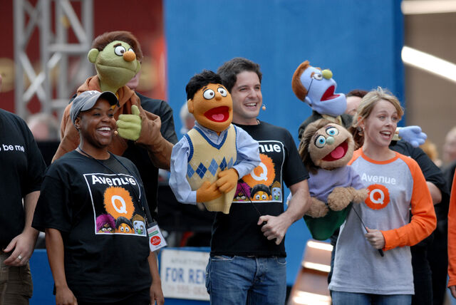 File:Avenue Q cast - Broadway on Broadway 1.jpg