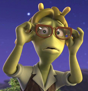 Teen Alien with Glasses Planet 51