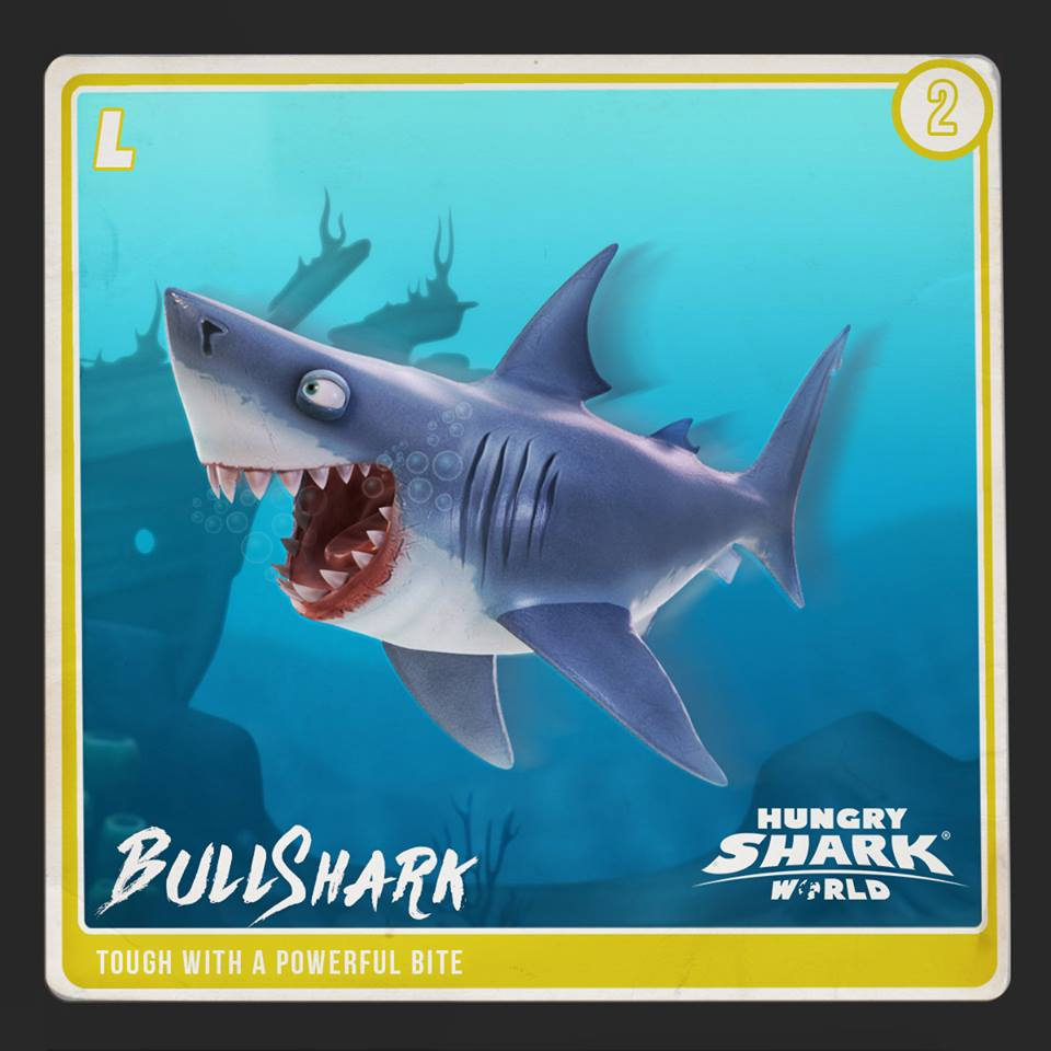 Bull Shark   Hungry Shark Wiki   FANDOM powered by Wikia
