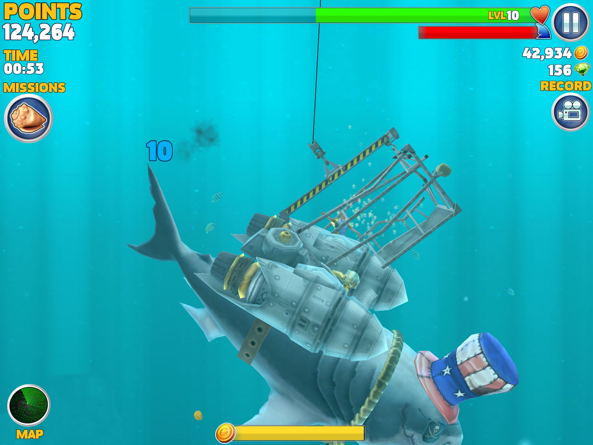 Image gallery hungry shark evolution for Tiger strike fish game cheats