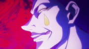 Hisoka Excited