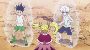Biscuit Training Gon & Killua