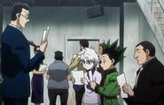 Gon killua leorio flyers