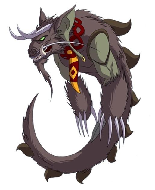 Huntik Titans Lindorm