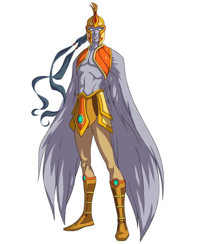 Huntik Titans Icarus_1