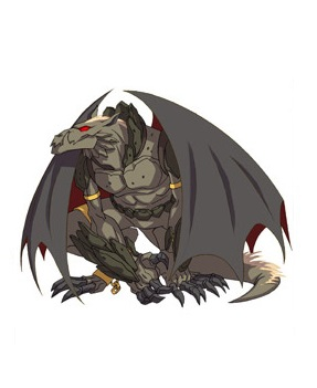Huntik Titans Gar-Ghoul