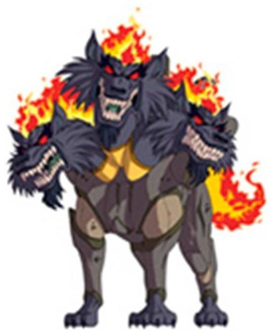 Huntik Titans Cerberus