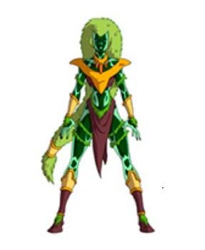 Huntik Titans Dark_Dryad