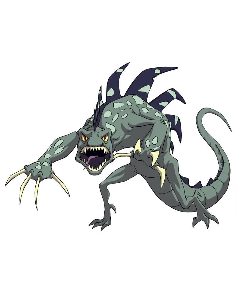 Huntik Titans Gareon