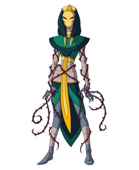 Huntik Titans Thornment