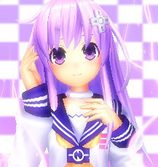 Nepgear icon purple by akanekazuyagi-d5260bi