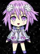 Neptune from hyperdimension neptunia by darksaph-d5gdbbs