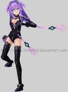 Mmd purple heart by littlebjd-d56g7xf