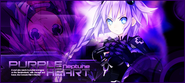 Neptunia purple heart by falconzx-d4cl1d1