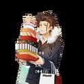 (Valentine's Day Scout) Tsubaki Rindo SR Transparent