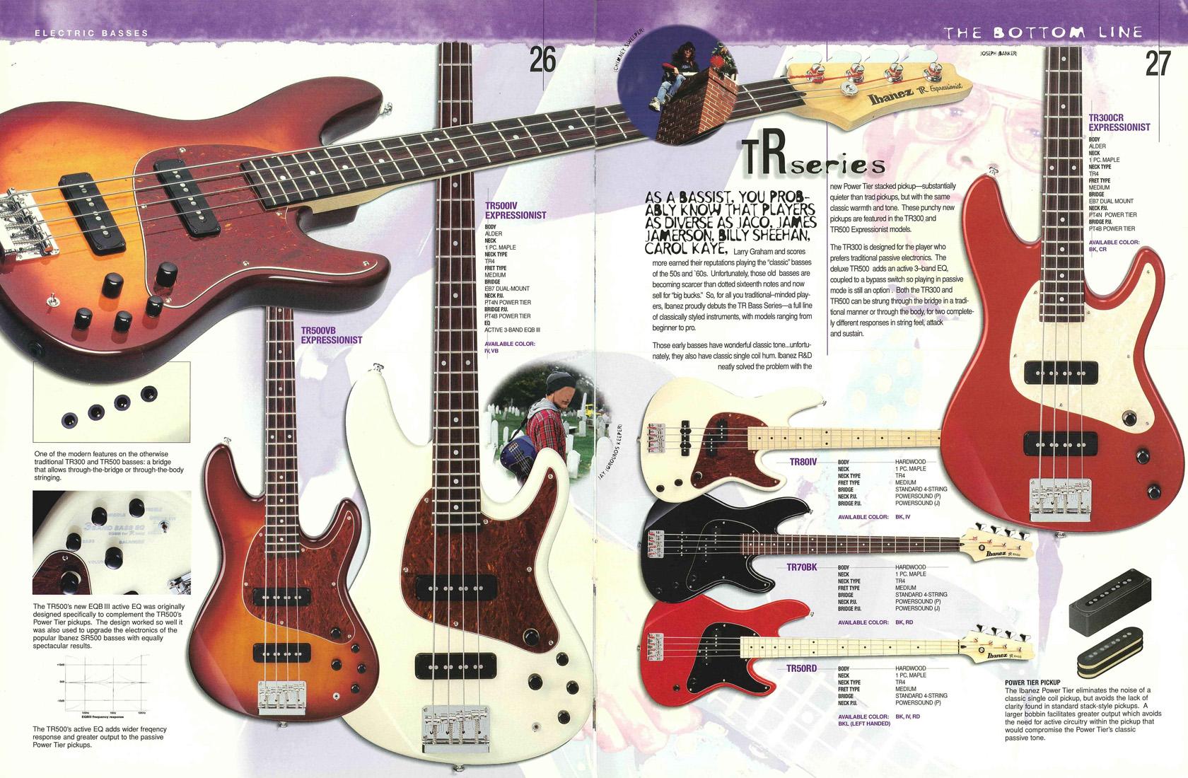 Image - 1996 USA catalog p26-27.jpg | Ibanez Wiki | Fandom powered ...