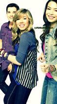 Icarly cast seddie hug manip by xfearlessgirlx3-d30e8p8