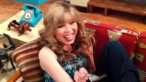 Insanity on the iCarly Set!