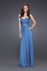 Grecian-Inspired-Strapless-Evening-Dress-front-view