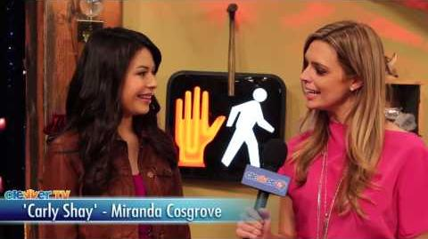 """""""iCarly"""" Cast Talks """"iRescue iCarly"""" Episode - Miranda Cosgrove, Jennette McCurdy"""