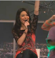 Carly Sings With Arm
