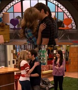 Seddie promo kiss