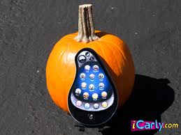 File:Pear phone with pumpkin.jpg