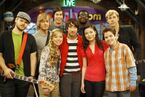 ICarly crew with Plain White T's