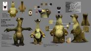 Uncle fungus concept art