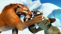 Diego choking Sid