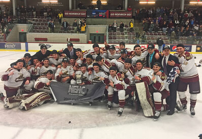 2017 NEHC Men's champs Norwich Cadets