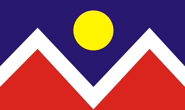 File:Denver, Colorado Flag.png
