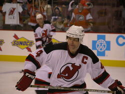 Scott Stevens on Ice