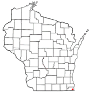 Pleasant Prairie, WI Map