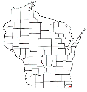 File:Pleasant Prairie, WI Map.png