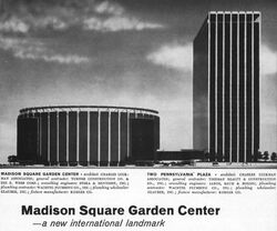 Madison Square Garden ad