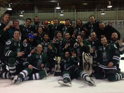 2016 SWHL champs Wilkie Outlaws