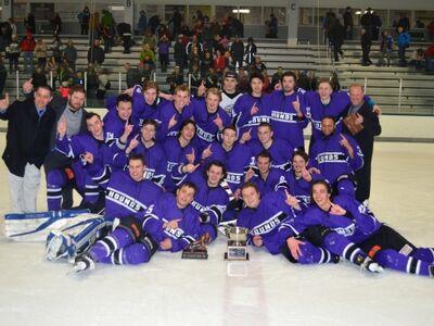 Traverse City 2015 MWJHL champs