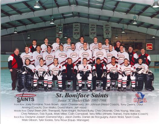 St. Boniface Saints 1997-98