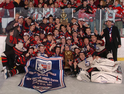 2009 USA Hockey Tier III champions Chicago Huskies