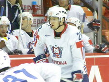 Slovenia VS USA (IIHF World Hockey Championship in Halifax NS, May 4 2008)