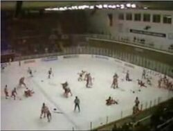 1987 Punch-up in Piestany 01