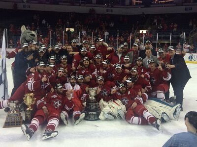 2016 ECHL Kelly Cup Champs Allen Americans